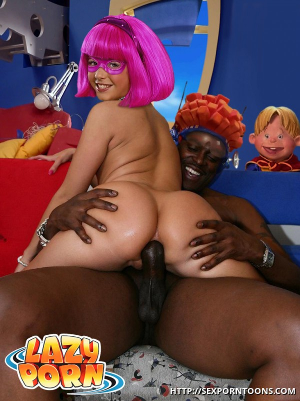Lazy Town Anal